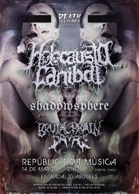 HOLOCAUSTO CANIBAL SHADOWSPHERE BRUTAL BRAIN DAMAGE