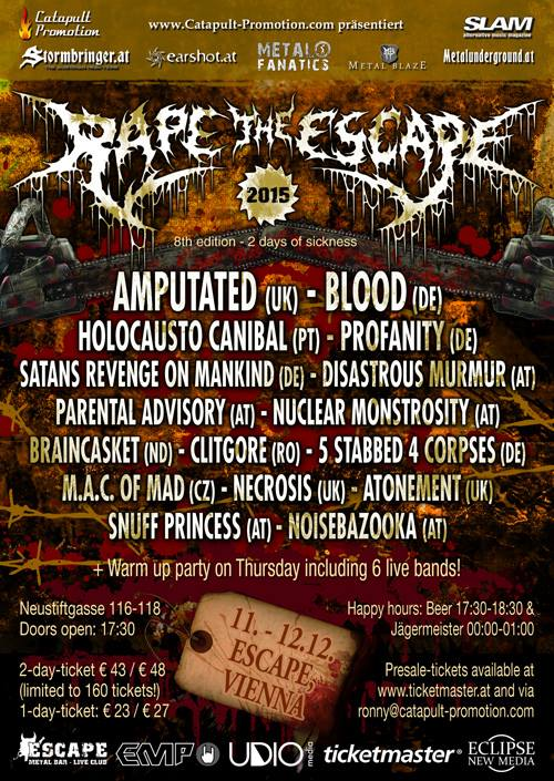 RAPE THE ESCAPE 2015